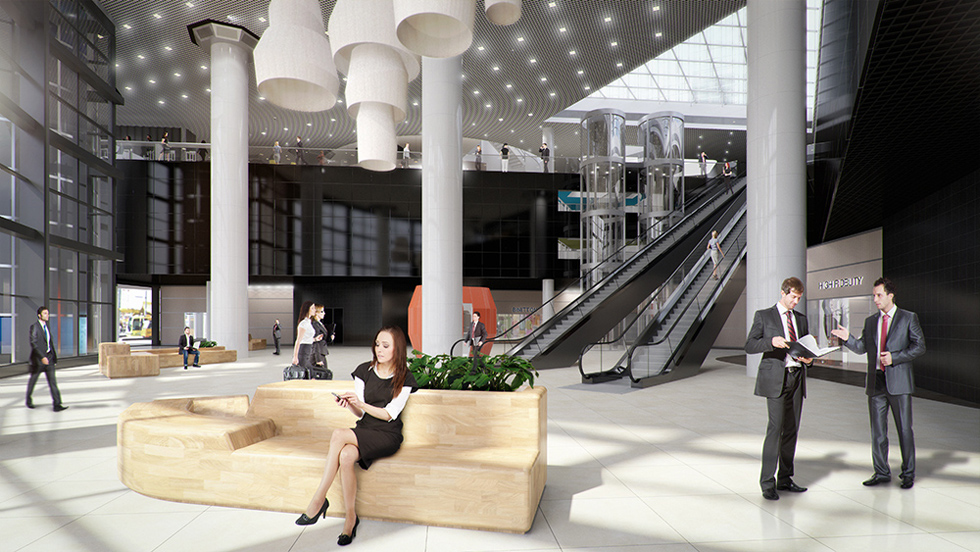 Delftse poort rotterdam 3d visualisatie en 360 studio i2 for Archi interieur rotterdam