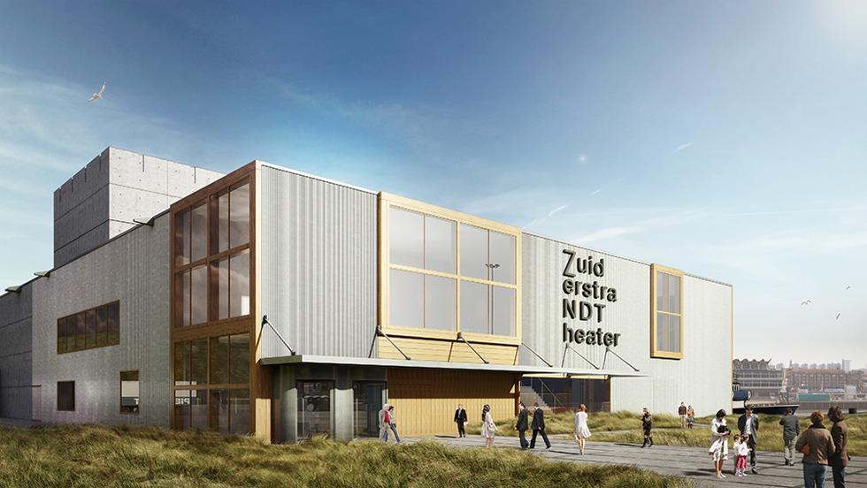 Zuiderstrandtheater den haag 3d visualisatie studio i2 for Loft interieur den haag
