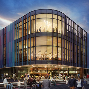 Theater Manchester Mecanoo Architecten